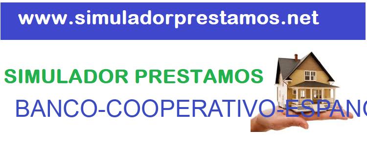 Simulador Prestamos  BANCO-COOPERATIVO-ESPANOL