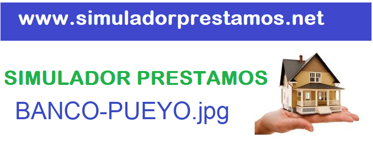 Simulador Prestamos  BANCO-PUEYO