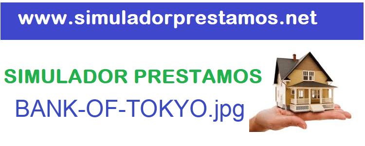 Simulador Prestamos  BANK-OF-TOKYO