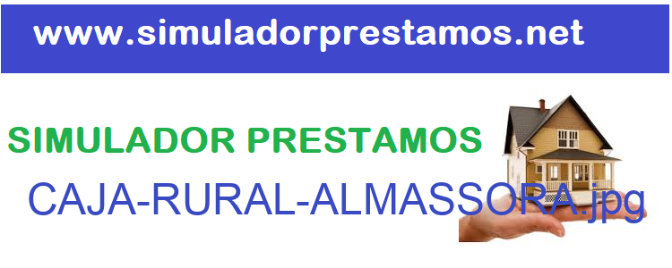 Simulador Prestamos  CAJA-RURAL-ALMASSORA