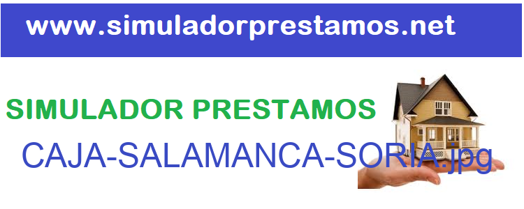 Simulador Prestamos  CAJA-SALAMANCA-SORIA