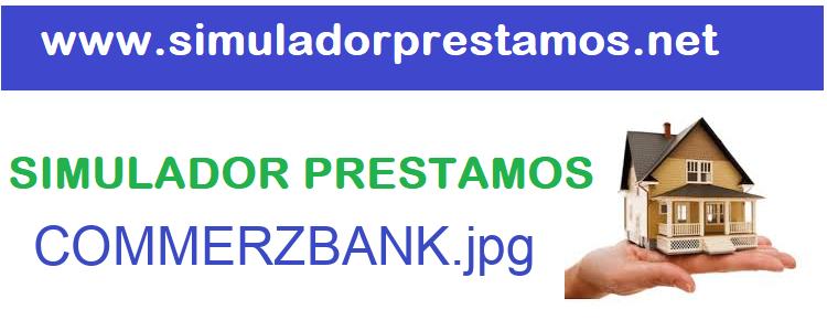 Simulador Prestamos  COMMERZBANK