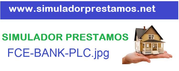 Simulador Prestamos  FCE-BANK-PLC