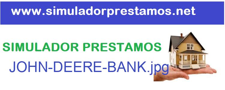 Simulador Prestamos  JOHN-DEERE-BANK