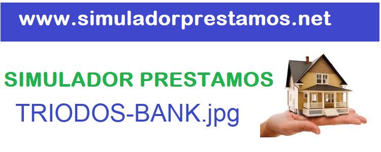 Simulador Prestamos  TRIODOS-BANK